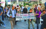 Tüntettek Verespatakért